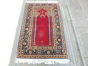Handmade Rug 2.8x4.6 ,Turkish Rug,Antique Rug,Entryway Rug,Hallway Rug,Old Rug.