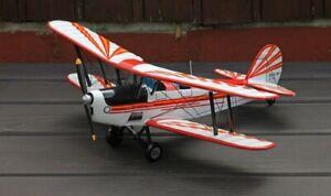 Flugzeug fertigmodell Stampe SV4 Modell 1:20 Mahagoniholz Modellbau Doppeldecker