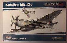 MAQUETTE MODEL KIT 1/144 SPITFIRE Mk.IXc DUAL COMBO EDUARD