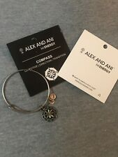 Alex and Ani Compass Bracelet Silver New