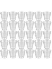 120 Small SHOT CUPS ~ ~ ~ Plastic clear party wedding pot jelly dessert glasses