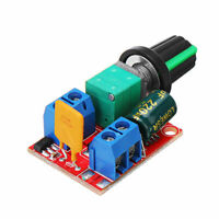 Mini DC Motor Controller Ultra-compact High-Speed PWM LED Dimmer 3V ~35V 5A 90w