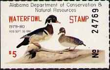 ALABAMA #1 1979 STATE DUCK WOOD DUCKS  by Barbara Keel First of State