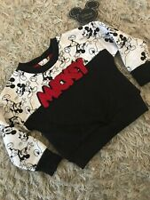 PRIMARK Baby boys Mickey Mouse Sweat Top size 24-36 months OFFICIAL LICENSED