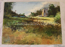 Jerome Grimmer - Original Landscape painting - Acrylic on board - 18 X 24