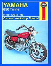 HAYNES SERVICE MANUAL YAMAHA XS650SE SPECIAL CUST 1979-82 & XS1 XS1B XS2 1970-73
