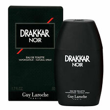 Drakkar Noir by Guy Laroche Cologne for Men 1.7 oz EDT Spray New in Box