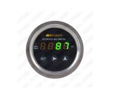 Digital Boost Gauge for Diesel Engine, Green LED, 3 bar / 48 PSI Sensor