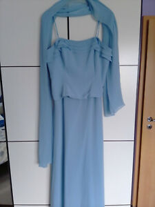 Lang kleider hellblau Abendkleider