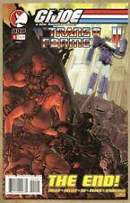 G.I. Joe Vs The Transformers #4-2004-nm- 9.2 Clement Suave Variant Cover GI Joe