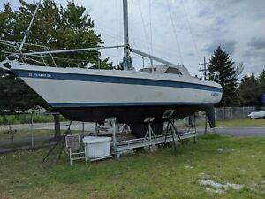1982 Tanzer Pilot House Sailboat