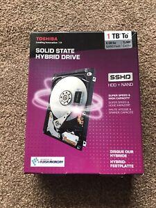 BNIB Toshiba 1 TB Solid State Hybrid Drive