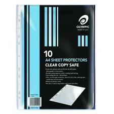 Olympic A4 Sheet Protectors 10 Pack 141765