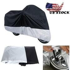 Motorcycle Cover Waterproof Rain Snow Dust Prevention Scooter Size L US STOCK