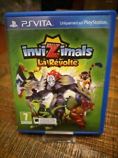 INVIZIMALS LA REVOLTE PSVITA Playstation Jeu Video Ps Vita