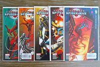 Lot x 5 Ultimate Spiderman (Marvel, 2007) DAREDEVIL app Part 1-5,106-110
