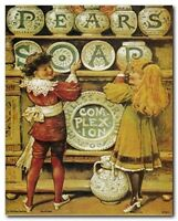 Pears Soap Vintage Ad Advertisement Wall Decor Art Print Poster (8x10)