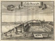 Bernried/Starnberger See : Kupferstich von Michael Wening, 1701