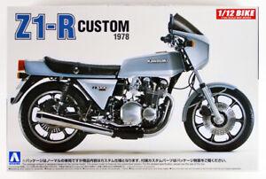 Aoshima Kawasaki Z1-R custom 1978 1/12 model kit 053997