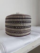 NUOVI Eleganti AFRICANO FATTO a MANO Tradizionale HAUSA kanuri Fulani Cappelli Taglia 21 in (ca. 53.34 cm)