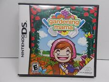 Gardening Mama Nintendo DS Video Game Complete