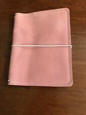 JT King Leather Orchid Purple Pink B6 TN Travelers Notebook Midori Travellers