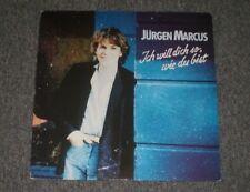 Jurgen Marcus~Ich Will Dich So, Wie Du Bist~1982 German IMPORT~FAST SHIPPING!