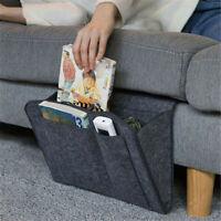 Hanging Bag Bedside Storage Organizer Holder Bed Pocket Sofa Phone Caddy