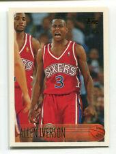 1996-97 TOPPS BASKETBALL ALLEN IVERSON #171 RC PHILADELPHIA 76ERS