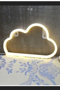 Childrens Cloud Light Warm White Night Light BNIP