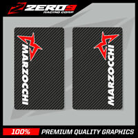 MARZOCCHI UPPER FORK DECALS MOTOCROSS GRAPHICS MX GRAPHICS ENDURO CARBON