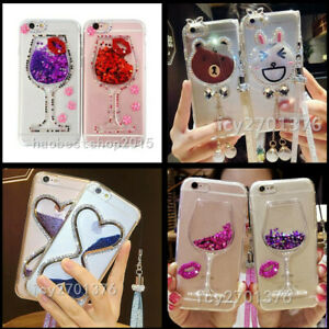 Bling Dynamic Liquid Glitter Quicksand Soft TPU Phone Back Cases Cover For Nokia