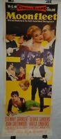 Vintage Insert Movie Poster for Moonfleet, 1955, Stewart Granger, George Sanders