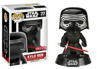 Star Wars The Force Awakens Kylo Ren with Helmet Funko Pop ! Limited Edition