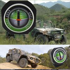 Per Auto Camion angolo di inclinazione Indicatore Balancer retroilluminazione misuratore di pendenza Gauge Led Luce