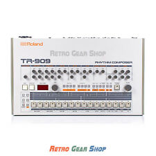 Roland TR-909 Rare Vintage Analog Drum Machine Synthesizer Synth TR909 Near Mint