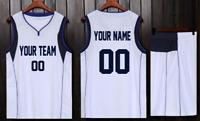 huge selection of 560da 9ad9d MEN S BASKETBALL JERSEY W  SHORT SET CUSTOM PERSONALIZED NAME (4), L-