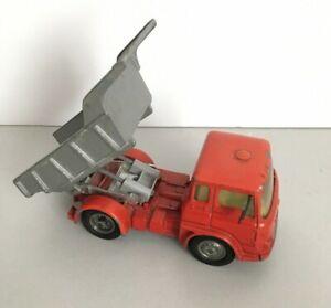 VINTAGE CORGI BEDFORD TRACTOR UNIT Tipper Dump Truck  - with SILVER TIPPER UNIT