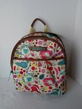 LILY BLOOM DOUBLE ZIPPER BACKPACK NWT LOVE CATS ADJUSTABLE STRAPS