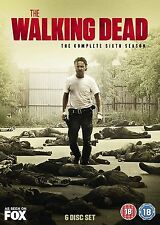 Walking Dead Complete Season 6 DVD All Episodes 6th Sixth Series UK Release NEW