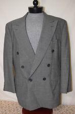 Burberry Men's 100% Wool Regular Jacket Double Breasted Blazers & Sport Coats