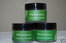 Patchouli Incense Powder Traditional 20 Grams in Each Jar, Ritual Incense,