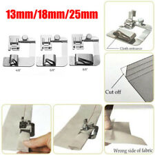 3pcs/Set Rolled Hem Foot Home Sewing Machine Hemming Cloth Strip Presser Feet AP