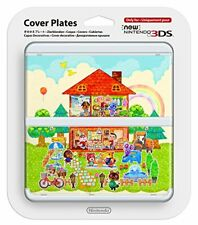 00237NEW Nintendo 3DS Cover Plates Kisekae plate No.062 Animal Crossi From japan
