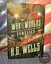 NEW The War of the Worlds & Other Science Fiction Classics H.G. Wells Hardcover