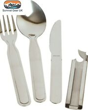 4 Pieces NATO KFS Set - Camping Military Cutlery Set - FREE DELIVERY