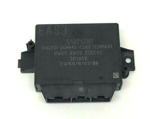 Genuine Fiat 500 Rear Parking Sensor ECU / Module (51921792)