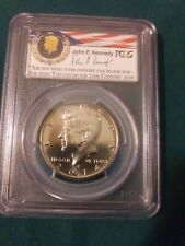 2014-P Kennedy 50c PCGS SP68 50th Anniv. UNC Set 1st Day of Issue Philadelphia