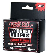 Ernie Ball Wonder Wipe String Cleaner 6 Pack