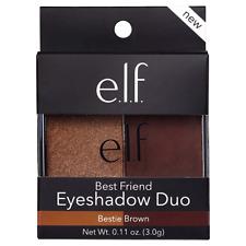 ELF Best Friend Eyeshadow Duo #85342 BESTIE BROWN New Boxed
